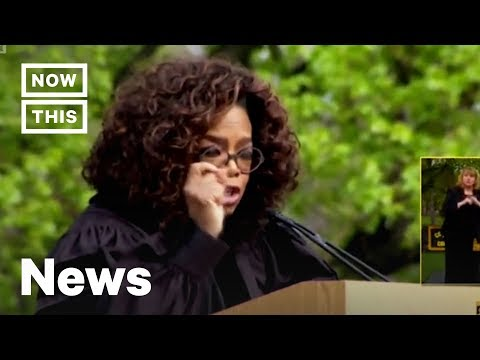 Oprah Delivers Powerful Graduation Speech at Colorado College | NowThis