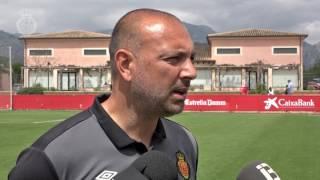 Declaraciones Pepe Gálvez post Mallorca B - Español B
