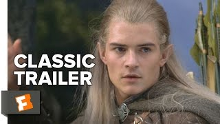 The Lord of the Rings: The Fellowship Of The Ring (2001) Official Trailer #1 - Ian McKellen Movie HD
