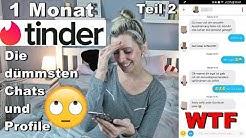 Single Sally - 1 Monat Tinder - Teil 2 - Die dümmsten Chats und Profile