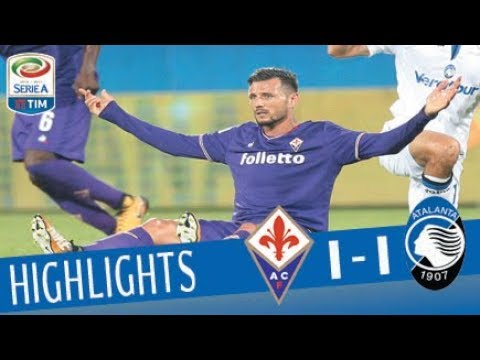 Fiorentina - Atalanta - 1-1- Highlights - Serie A TIM 2017/18