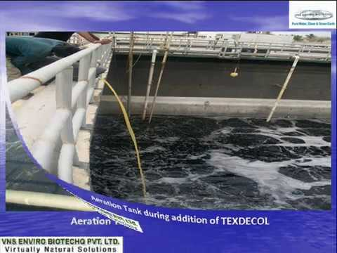Textile dye effluent decolorizing.wmv