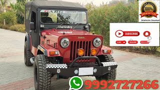 Mahindra Major Jeep With AC || 2WD CL-550 MDI | 1101 | modified jeep | ORDER NOW@ 9992727266