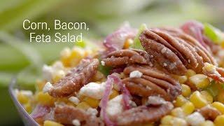 Corn, Bacon, Feta Salad Recipe