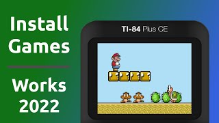 How to Run Gaṁes on a TI-84 Plus CE Calculator
