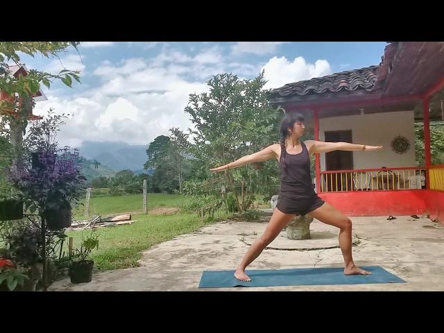 Yoga équilibre et volonté - Marine Bodhayoga