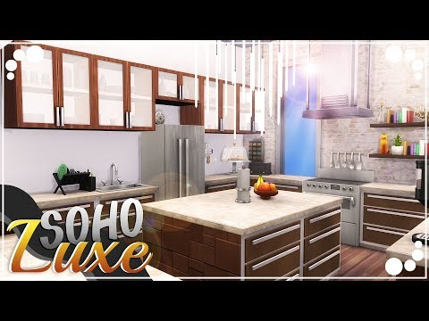 SOHO LUXE APARTMENT ⭐   The Sims 4   Speed Build