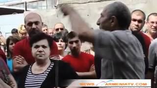 Բողոքի խոշոր ակցիա Երևանում News.armeniatv.com