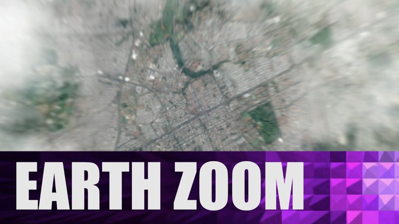 EARTH ZOOM OUT / Tutorial After Effects