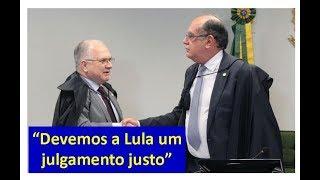 """Política nas veias - 24/08/2019 - Gilmar Mendes: """"Devemos a Lula um julgamento justo""""!"""