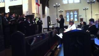 Wenn wir in höchsten Nöten sein- Brahms and Ave Maria- Biebl