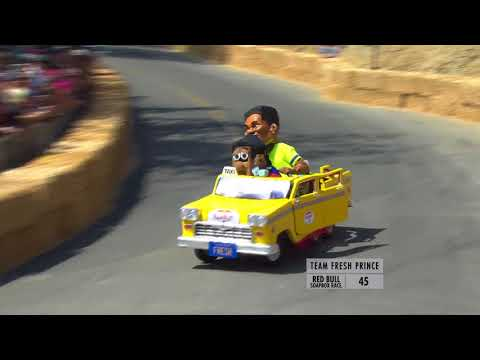 Official Team Fresh Prince CRASHES & GoPro Video fr Red Bull Soapbox Race, Elysian Park, CA 8/20/17