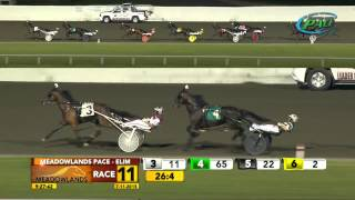 Meadowlands Pace Elimination #2 - Wiggle It Jiggleit - July 11, 2015