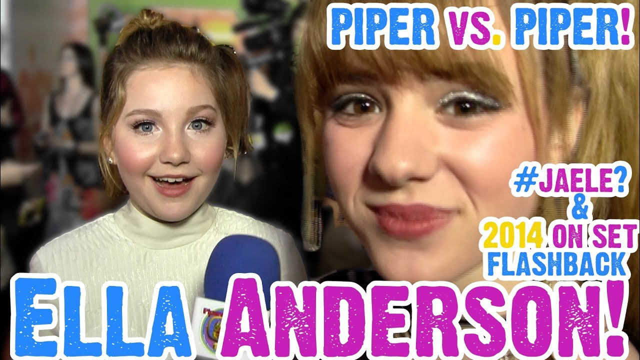 66fee377a Ella Anderson Busts  Jaele Dating Rumors   Talks Henry Danger with the REAL  Piper!
