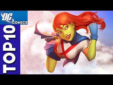 Top 10 Miss Martian Moments From Young Justice