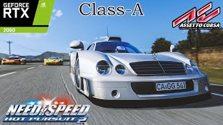 Need for Speed Hot Pursuit 2 - Class A   Assetto Corsa   ABG