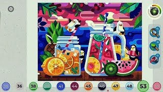 Gallery Coloring Book Decor By Oleg Beresnev Ios Gameplay Video Hd Youtube
