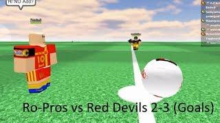 ROBLOX DMC I - Ro-pros vs Red Devils (Goals, 2011)