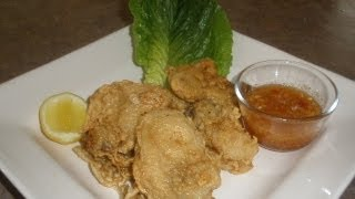 How To Make Deep Fried Oyster