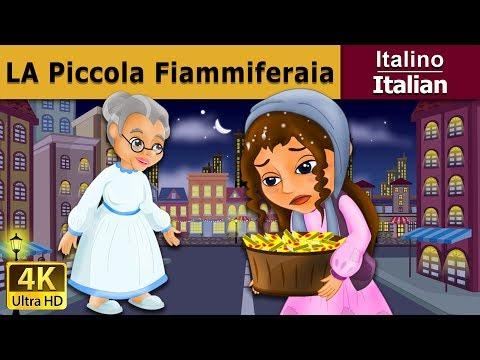 La piccola fiammiferaia | Storie Per Bambini | Favole Per Bambini | Fiabe Italiane