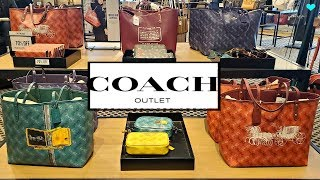 Coach OUTLET SALE Extra 20% OFF * HANDBAGS PURSE SHOPPING Walkthrough 2020