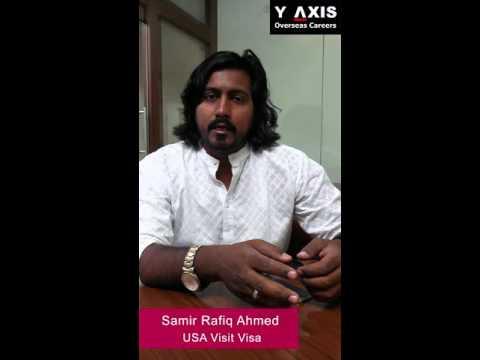 Samir Rafiq Ahmed VISA Visit Visa for USA, UK, Canada