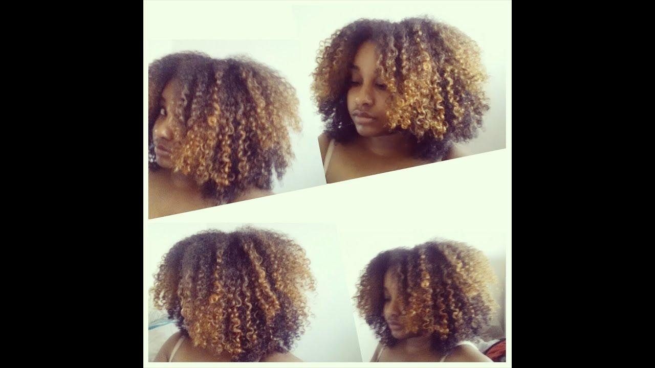 Blonde hair on african americans