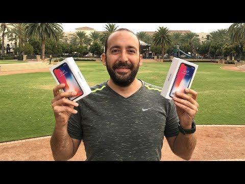 Sıraya Girdim iPhone X'leri Aldım: Kutu Açılışı