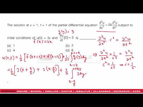 GATE 2018 CIVIL ENGINEERING PAPER SHIFT 1   MATHS QUESTIONS