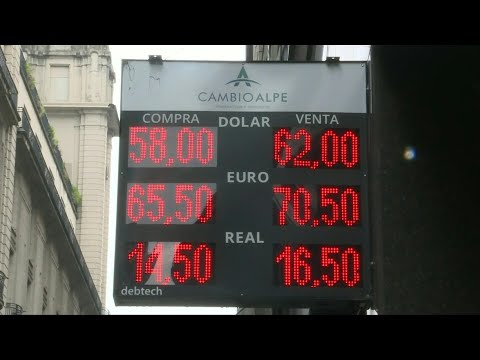Argentine Peso Rises More Than 3% Against Dollar | AFP