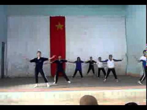thể dục nhịp điệu Teen 12b2 THPT Lê Quý Đôn