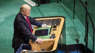 «Трамп — былинный герой». О чем президент США говорил на заседании Генассамблеи ООН?