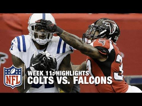 Colts vs. Falcons   Week 11 Highlights   NFL