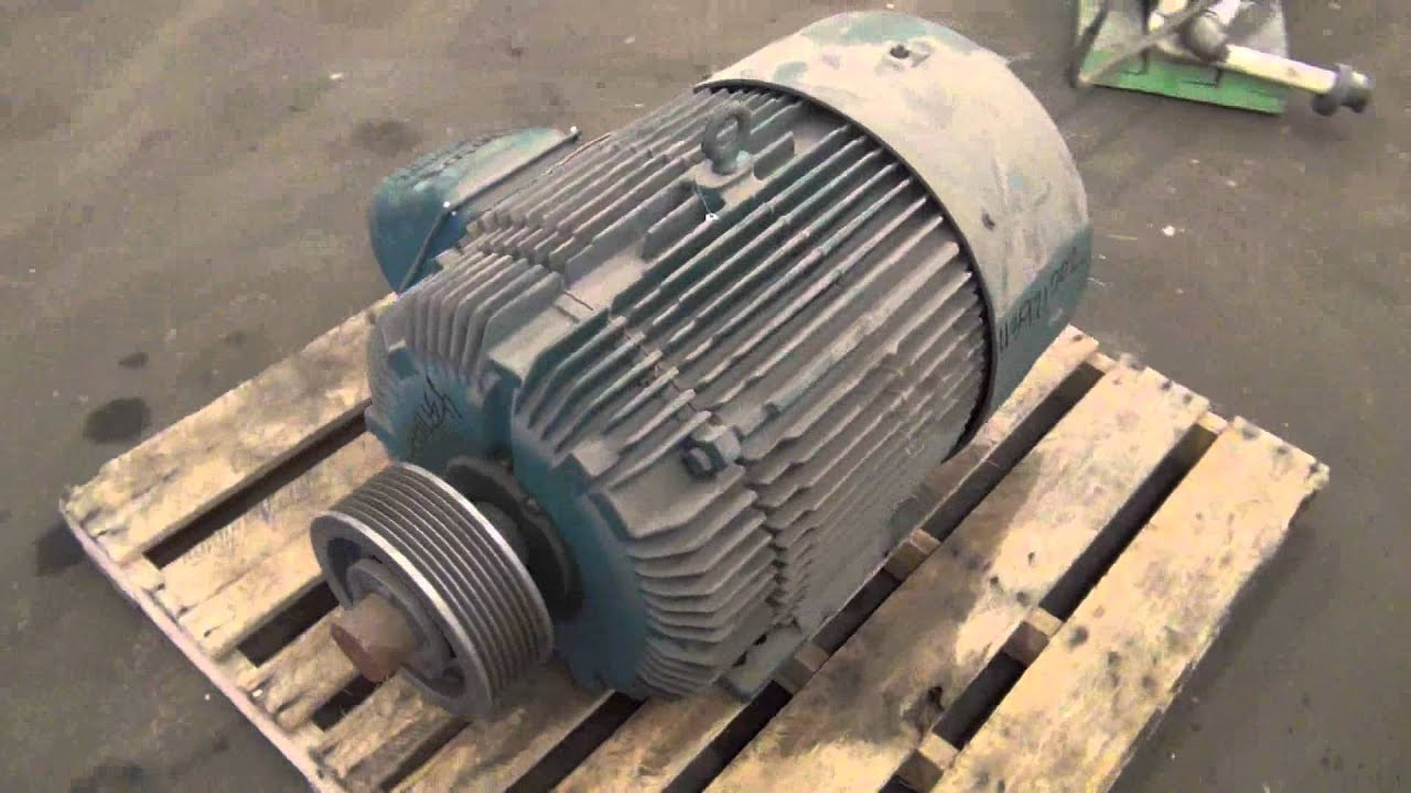Used reliance electric 50 hp duty master a c motor for Duty master ac motor reliance electric