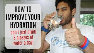How to Improve Hydration