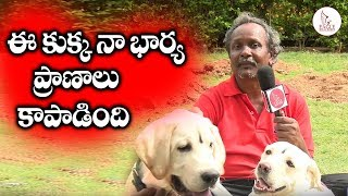 This Dog Saved My Wifes Life | Pet Lovers | Hyderabad | Eagle Media Works