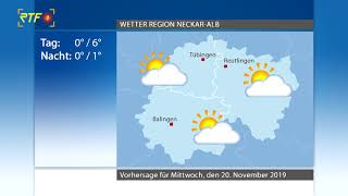 RTF.1-Wetter 19.11.2019