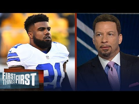 Zeke should feel disrespected by Jerry Jones' comments - Chris Broussard | NFL | FIRST THINGS FIRST