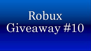 Roblox Robux giveaway #10