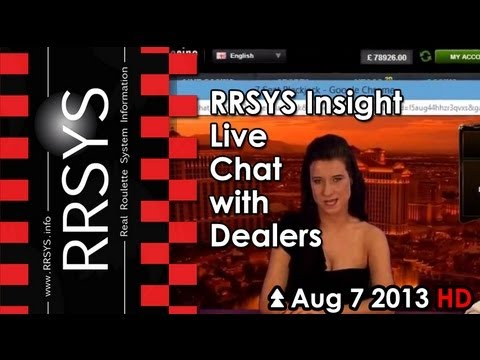 ▀ RRSYS Insight - Live Chat with the Dealers