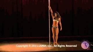 US Pole Dance Championships 2011 - Estee Zakar