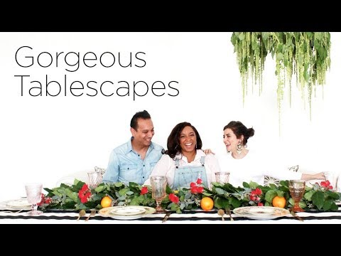 Gorgeous Tablescapes  Centerpiece & Decor Ideas