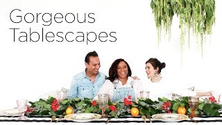 Gorgeous Tablescapes | Centerpiece & Decor Ideas