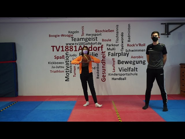 Basketballübungen mit Lena & Niklas