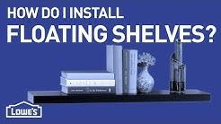 How Do I Install Floating Shelves? | DIY Basics