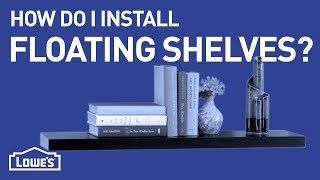How Do I Install Floating Shelves? | DIY Basics