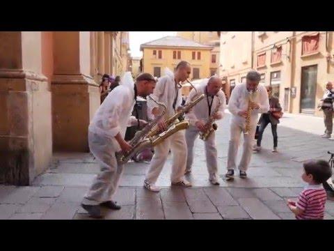 SaxLab Saxophone Quartet - Tous Les Mêmes (Stromae cover)