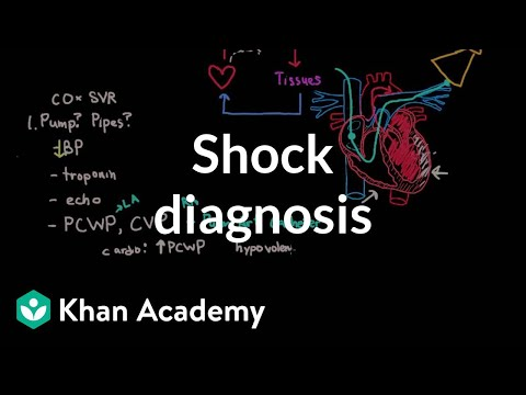 Shock - diagnosis and treatment | Circulatory System and Disease | NCLEX-RN | Khan Academy