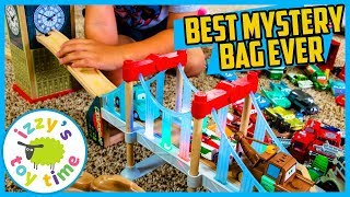 SUPER RARE BLIND BAG! WOAH! Thomas and Friends with Disney Pixar Cars! Toy Trains for Kids