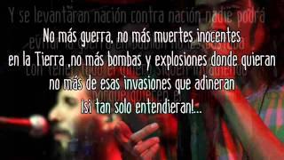 Zona Ganjah-No Más Guerra (Letra)